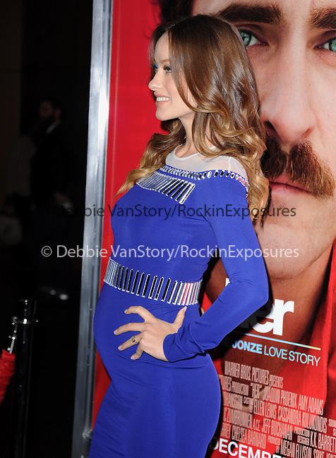 """LOS ANGELES, CA - December 12: Olivia Wilde arrives at The Warner Bros' Pictures L.A. Premiere of """"her"""" held at The DGA in West Hollywood, California on December 12,2013                                                                               © 2013 Hollywood Press Agency"""