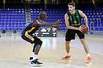 LLIGA NACIONAL CATALANA ACB 2020 AON.<br /> Morabanc Andorra vs Club Joventut Badalona: 77-75.<br /> Bandja Sy vs Conor Morgan.