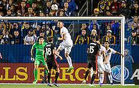 CARSON, Calif. - Sunday, March 6, 2016: The Los Angeles Galaxy defeat DC United 4-1 during Major League Soccer (MLS) play at StubHub Center stadium.