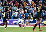 St Johnstone v Rangers…11.09.21  McDiarmid Park    SPFL<br />Hayden Muller in action<br />Picture by Graeme Hart.<br />Copyright Perthshire Picture Agency<br />Tel: 01738 623350  Mobile: 07990 594431