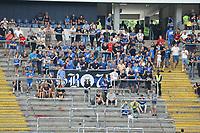 Fans des FSV Frankfurt - 06.08.2017: Eintracht Frankfurt vs. FSV Frankfurt, Saisoneröffnung, Commerzbank Arena