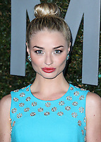 BEVERLY HILLS, CA, USA - OCTOBER 02: Emma Rigby arrives at Michael Kors Launch Of Claiborne Swanson Franks's 'Young Hollywood' Book held at a Private Residence on October 2, 2014 in Beverly Hills, California, United States. (Photo by Xavier Collin/Celebrity Monitor)