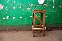 Stool in Dambwa Central Market, Livingstone, Zambia