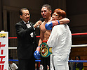 Boxing: OPBF and WBO Asia Pacific middleweight titles bout