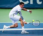 Milos Raonic (CAN) defeats Donald Young (USA) 6-4, 7-5