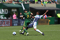 Portland, Oregon - Sunday, May 13, 2018.  Portland Timbers vs. Seattle Sounders  FC in a match at Providence Park.