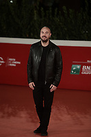 """French actor and screenwriter Kyan Khojandi poses on the red carpet for the screening of the film """"Les Discours"""" during the 15th Rome Film Festival (Festa del Cinema di Roma) at the Auditorium Parco della Musica in Rome on October 19, 2020.<br /> UPDATE IMAGES PRESS/Isabella Bonotto"""