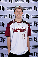 Adam Shook (13) of Spanaway Lake High School in Tacoma, Washington during the Baseball Factory All-America Pre-Season Tournament, powered by Under Armour, on January 12, 2018 at Sloan Park Complex in Mesa, Arizona.  (Mike Janes/Four Seam Images)