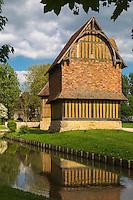 France, Calvados (14), Pays d'Auge, Crèvecoeur-en-Auge, Château de Crèvecoeur, le colombier, XVè siècle / France, Calvados, Pays d'Auge, Crèvecoeur-en-Auge,  The Castle, The dovecote, 15th century