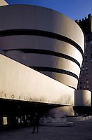 Exterior of Guggenheim Museum