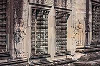 Cambodia, Angkor Wat.  Apsaras, Supernatural Female Beings in Hindu Mythology.