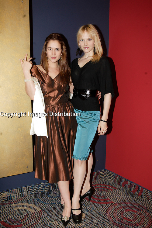 Montreal (Qc) Canada, May 3rd 2007<br /> <br /> Victoria Sanchez, Actress (L)<br /> -Marianne Farley, actress, (R)<br /> at the red carpet event to celebrate that<br /> Paramount become Scotia Bank Cinema<br /> <br /> photo : Pierre Roussel (c)  Images Distribution