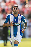 Diego Rico of Deportivo Leganes in action during their La Liga match between Deportivo Leganes and Sevilla FC at the Butarque Municipal Stadium on 15 October 2016 in Madrid, Spain. Photo by Diego Gonzalez Souto / Power Sport Images