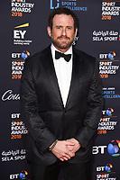 Jason Fox<br /> arriving for the BT Sport Industry Awards 2018 at the Battersea Evolution, London<br /> <br /> ©Ash Knotek  D3399  26/04/2018