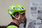 Dan Martin (IRL) Cannondale-Garmin at sign on for the start of the 2015 96th Milan-Turin 186km race starting at San Giuliano Milanese, Italy. 1st October 2015.<br /> Picture: Eoin Clarke | Newsfile