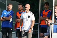 Trainer Dennis Verzay (Trebur) - Königstädten 19.09.2021: Alemannia Königstädten vs. SG Trebur-Astheim