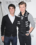 Darren Criss and Chris Colfer at The PaleyFest 2011 Panel for Glee held at The Saban Theater in Beverly Hills, California on March 16,2011                                                                               © 2010 Hollywood Press Agency