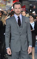 May 2nd, 2013 - London..Chris Pine arriving at the premiere of Star Trek Into Darkness at the Empire in London, UK on May 2, 2013..****** BYLINE MUST READ : © Spread Pictures ******..****** No Web Usage before agreement ******..****** Strictly No Mobile Phone Application or Apps use without our Prior Agreement ******..Enquiries at photo@spreadpictures.com