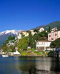 CHE, Schweiz, Tessin, Ascona am Lago Maggiore   CHE, Switzerland, Ticino, Ascona at Lago Maggiore
