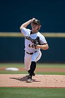 Bradenton Marauders pitcher Conner Loeprich (44) during a Florida State League game against the St. Lucie Mets on July 28, 2019 at LECOM Park in Bradenton, Florida.  Bradenton defeated St. Lucie 7-3.  (Mike Janes/Four Seam Images)