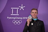 OLYMPIC GAMES: PYEONGCHANG: 24-02-2018, Gangneung Oval, Long Track, Mass Start Men, Silver medalist Bart Swings (BEL), ©photo Martin de Jong