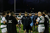 Mark Bright of London Scottish during the Greene King IPA Championship match between Ealing Trailfinders and London Scottish Football Club at Castle Bar , West Ealing , England  on 19 January 2019. Photo by Carlton Myrie/PRiME Media Images