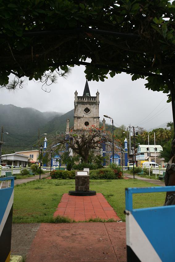 Soufriere Square, Soufriere, St. Lucia
