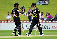 171231 Burger King Super Smash T20 Cricket - Wellington Firebirds v Otago Volts