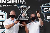 Jay Frye and Manufacturer's Championship winner Ted Klaus of Honda HPD