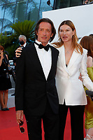 """CANNES, FRANCE - JULY 13: Oskar Roehler and Alexandra Fischer-Roehler at the """"Aline, The Voice Of Love"""" screening during the 74th annual Cannes Film Festival on July 13, 2021 in Cannes, France. <br /> CAP/GOL<br /> ©GOL/Capital Pictures"""