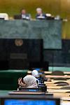 General Assembly Seventy-fourth session<br /> <br /> <br /> <br /> Delegate at GA in morning