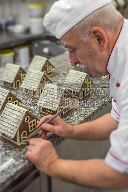 Europe/Allemagne/Bade-Würrtemberg/Forêt Noire/Baiersbronn: Chocolaterie de la Forêt Noire: Eberhard Holz [Non destiné à un usage publicitaire - Not intended for an advertising use]