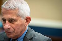 Anthony Fauci, director of the National Institute of Allergy and Infectious Diseases, testifies before the House Energy and Commerce Committee in Washington, D.C., U.S., on Tuesday, June 23, 2020. Trump administration health officials will tell lawmakers that their agencies are preparing for a flu season that will be complicated by the coronavirus pandemic. <br /> Credit: Sarah Silbiger / Pool via CNP/AdMedia