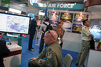 - advertising stand of US Air Force....- stand di propaganda dell'US Air Force