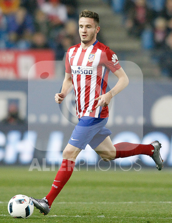 Atletico de Madrid's Saul Niguez during Spanish Kings Cup match. January 27,2016. (ALTERPHOTOS/Acero)