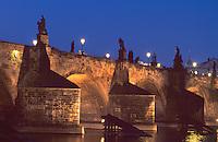 Karlsbrücke (Karlov Most), Prag, Tschechien, Unesco-Weltkulturerbe