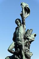 Denkmal auf dem Observatoriumshügel, Helsinki, Finnland