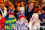 Eamon, Emily, Zoe, Zack and Donal Burke, enjoying the Santa Parade in Killarney on Saturday evening last.