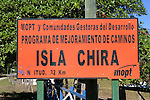 Chira Island Sign To Better The Roads