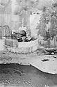 Iraq 1955 <br /> Dokan tunnel under construction <br /> Irak 1955 <br /> Le tunnel de Dokan en cours de construction