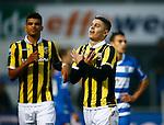 Nederland, Zwolle, 18 oktober 2015<br /> Eredivisie<br /> Seizoen 2015-2016<br /> PEC Zwolle-Vitesse<br /> Milot Rashica van Vitesse juicht nadat hij een doelpunt heeft gemaakt, 1-5