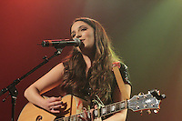 Former (Quebec's) La Voix contestant Celeste launch her eponymous and first album at the Corona in Montreal, November 11, 2015.<br /> <br /> Photo by Sandap Chao<br />  - Agence Quebec Presse