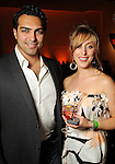 Sean Bastani and Danielle Lamon at the kico-off paty for the Latin Wave: New Films From Latin America festival a the Museum of Fine Arts Houston Thursday April 29,2010.. (Dave Rossman Photo)