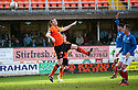 United's Jon Daly scores united's second.