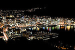 Harbour at night. Wellington scenes. Photo: Marc Weakley