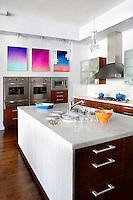 Marble kitchen bar