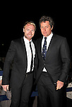 Pic Kenny Smith............. 03/10/2009.Dunhill Links Champioship, St Andrews  Links, Singer Ronan Keating and actor Hugh Lawrie arrive for the Dunhill dinner and firework display