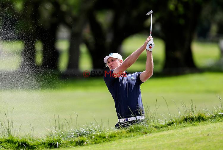 Travis Smyth of Australia during the Asia Pacific Amateur Golf Championship Round Two, Royal Wellington Golf Course, Wellington, New Zealand, 27 October2017.  Photo: Simon Watts/www.bwmedia.co.nz