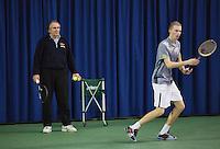 21-02-2014, Netherlands, Eemnes, Martin Simek, coach<br /> Photo: Henk Koster
