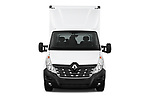 Car photography straight front view of a 2019 Renault Master Base 4 Door Cargo Van